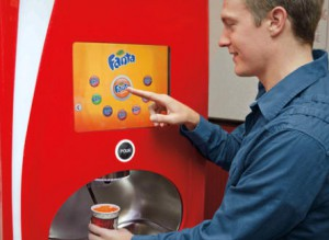 Coca Colas Drink Dispenser