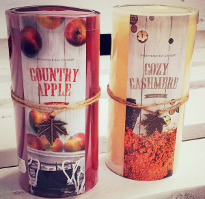 Country Apple + Cozy Chashmere Candles