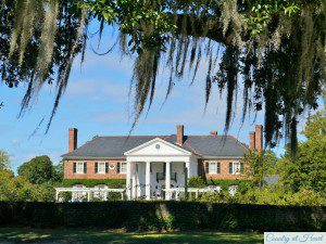 Boone Hall Herrenhaus Plantage