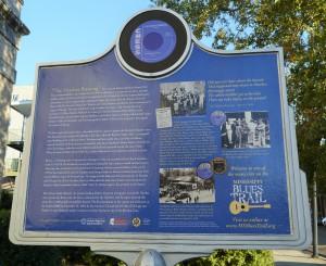Blues Trail Sign