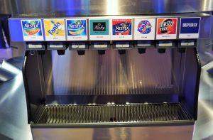 Drinks at Coca-Cola Museum