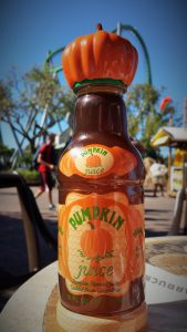 Pumpkin Juice at Wizarding World of Harry Potter