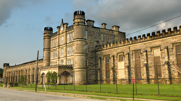 West Virginia State Penitentiary in Moundsville