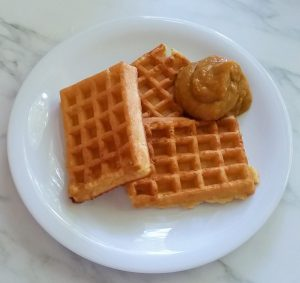 Sweet Potatoe Butter and Waffles