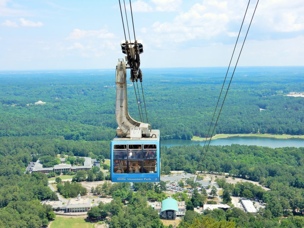 Cable Car Stone Mountain