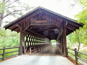 Covered Bridge at Stone Mountain State Park