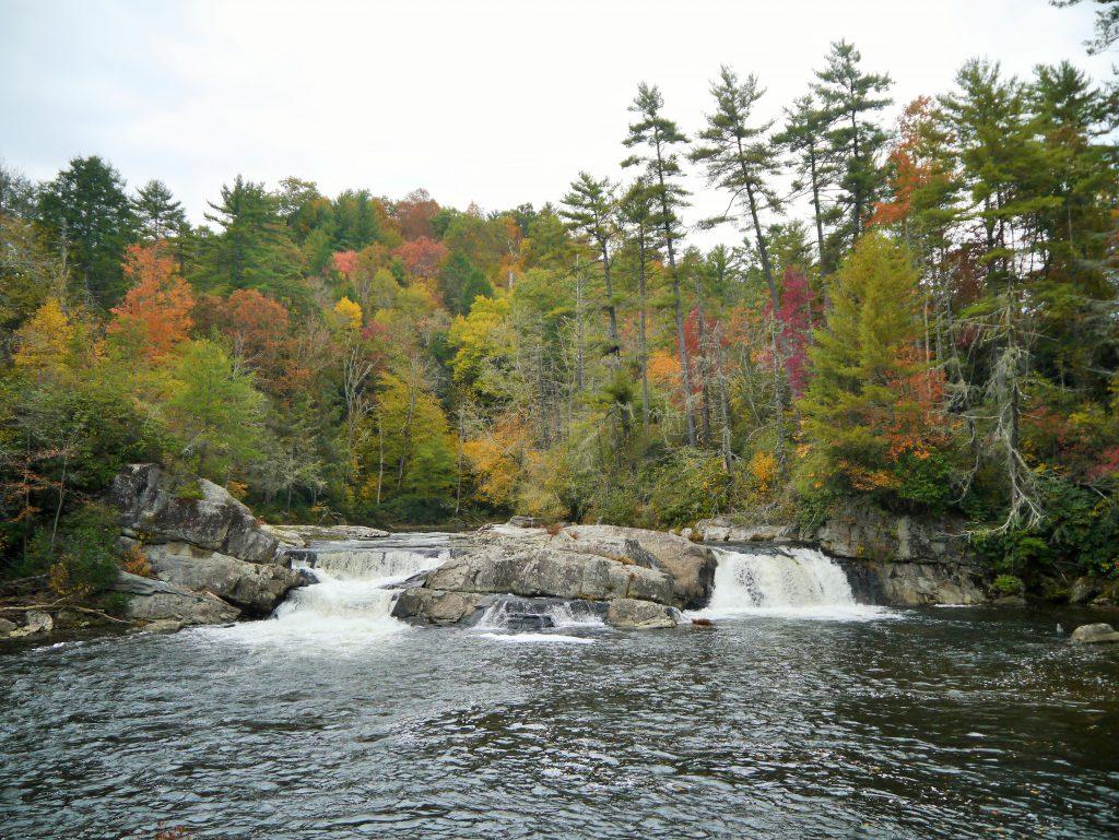 Linville Falls in Fall