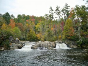 Linville Falls in Fall