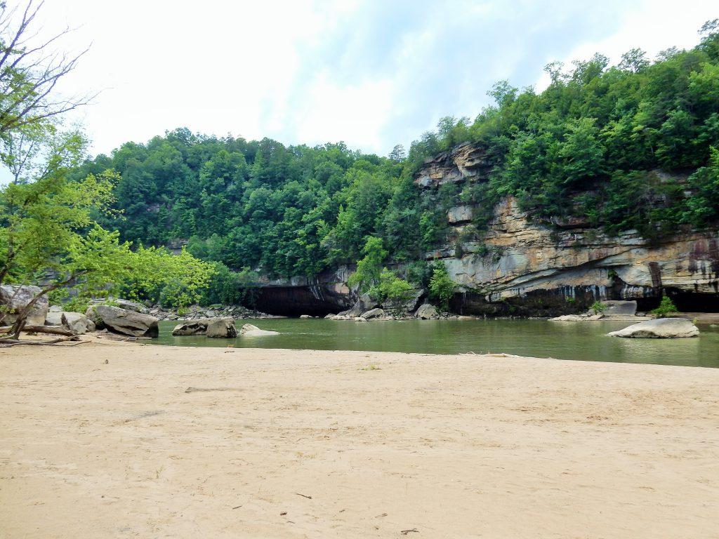 Sandy Beach Cumberland Falls
