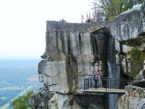 Rock at Lookout Mountain