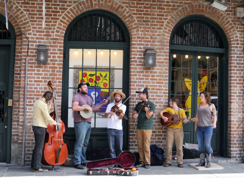 Streetband in New Orleans