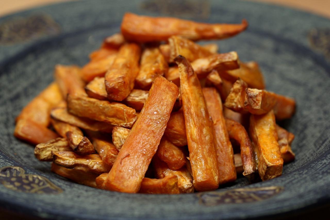 Süßkartoffel Pommes