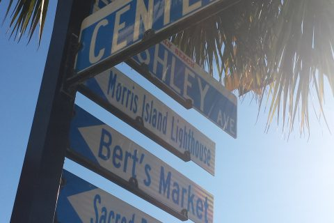 Street Sign Folly Beach