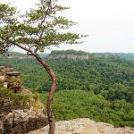 Chimney Top Rock in Kentucky