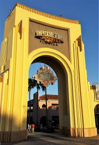 Gate of Universal Studios Orlando