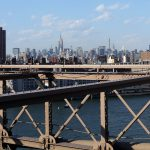 ;anhattan from the Brookly Bridge