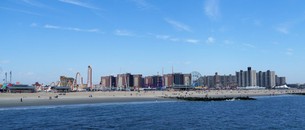 View on Coney Island