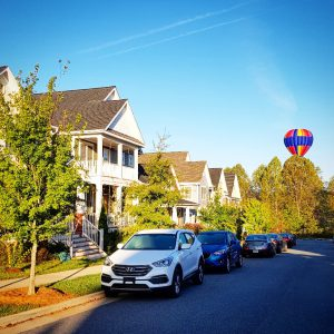 Neighbourhood in Charlottesville