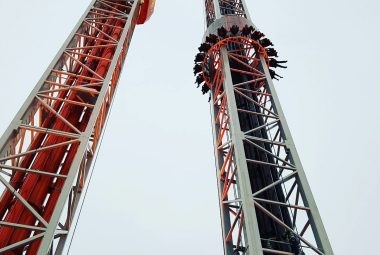Freefall Towers Hershey Park