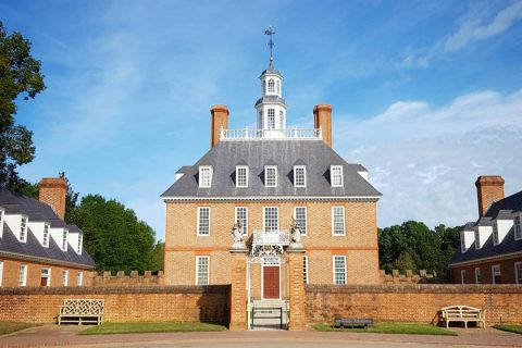 House at Colonial Williamsburg