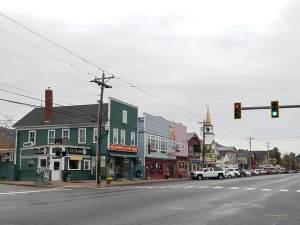 North Conway in October