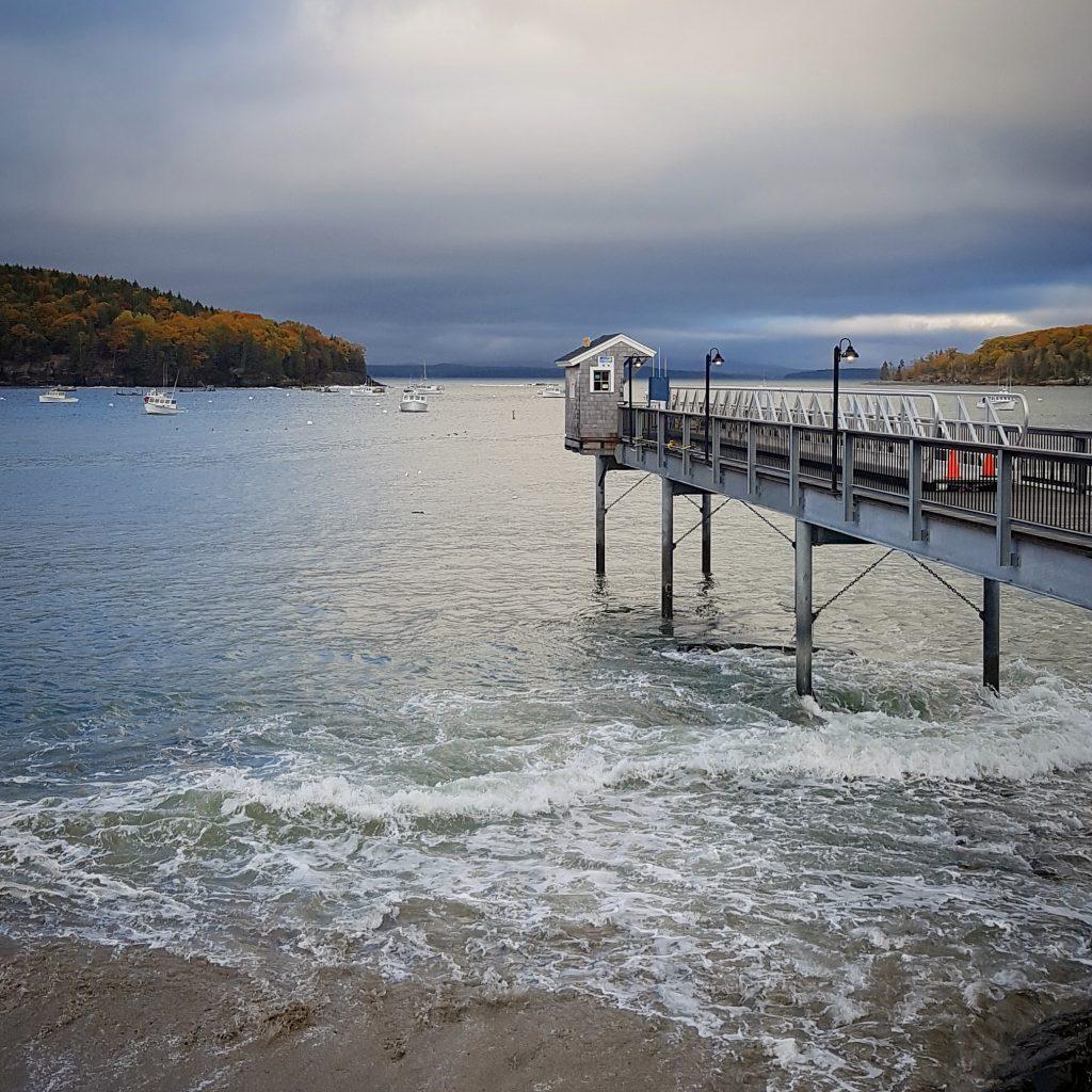 Harbor of Bar Harbor, Maine