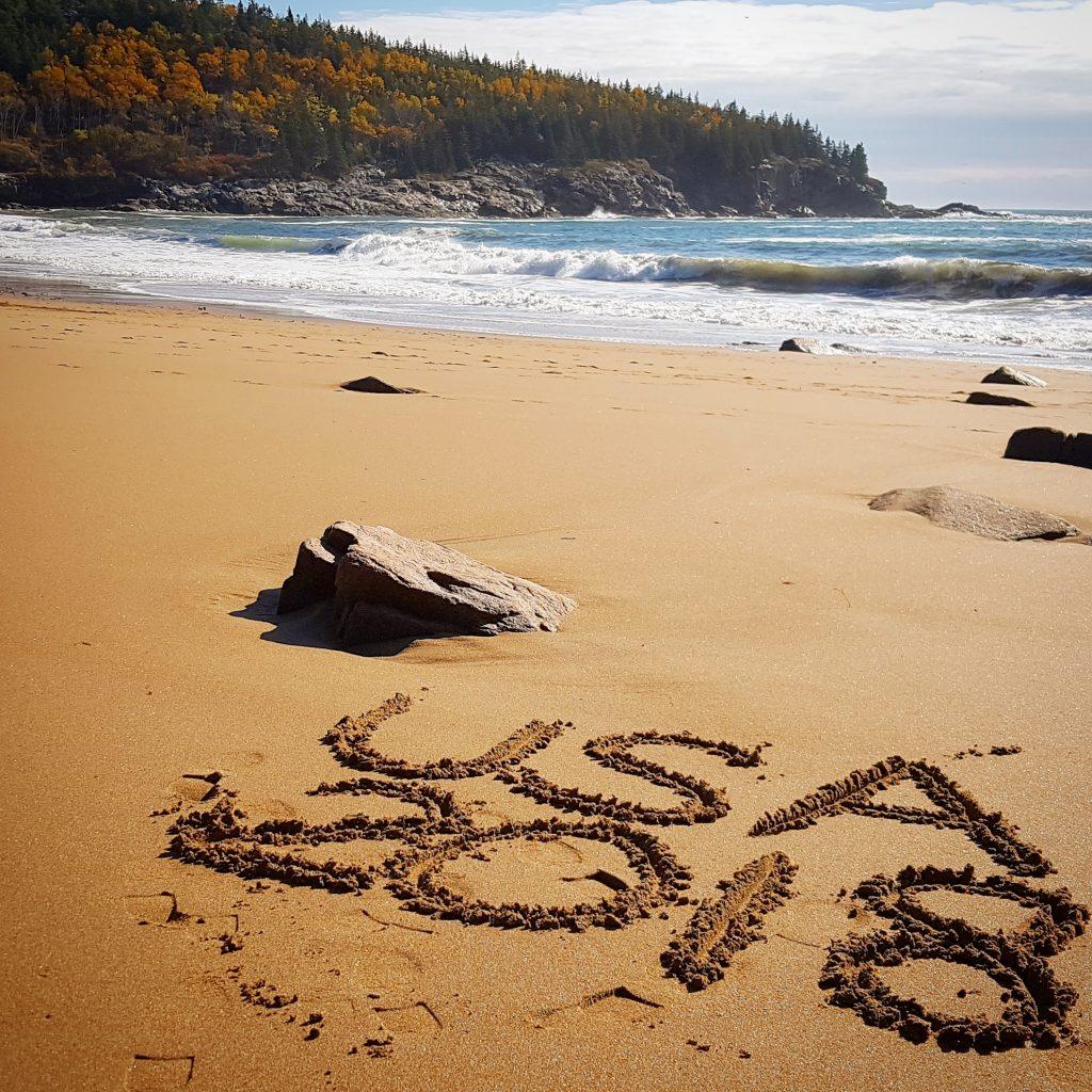 Sand Beach, Acadia Nationalpark
