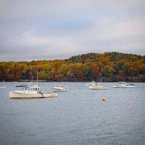 Bar Harbor in Fall