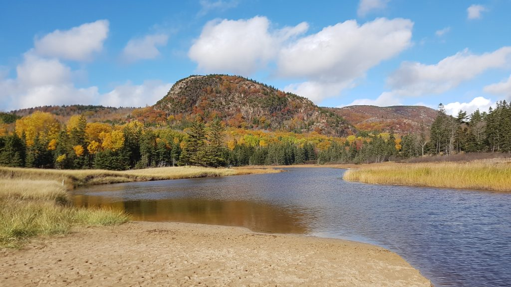 Beehive Lagoon at Acadia Nationalpark